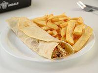 Combo 3 - Fajita + papas fritas + refresco