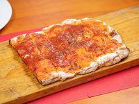 2 x 1 pizza común