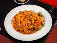 Curry y Vegetales- Pollo