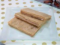 Sándwich triple de jamón crudo y queso (unidad)