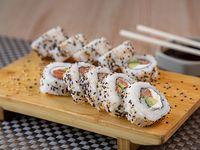 Sake cream roll (10 piezas)