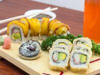 Sushi y Oreos al Cruch