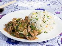 Colacion - Carne mongoliana