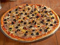 5 - Pizza vegetariana familiar (35 cm)