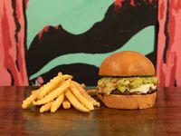 Guacamole Burger + Papas