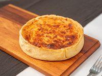 Tarta de cebolla caramelizada y 3 quesos 16 cm