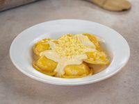 Sorrentinos de jamón y queso