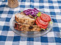 Menú Asado de cerdo al horno súper tierno con guarnicion + pan
