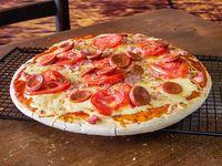 Armá tu pizza familiar