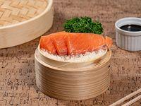 Sashimis de salmón 5 piezas