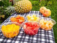 Porciones de Fruta Sencilla