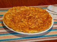 Omelette con cerdo
