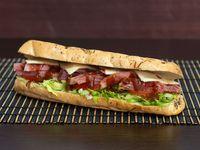 Sándwich Costillas de Cerdo BBQ