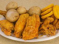 1 Pollo Apanado
