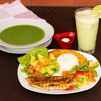 Filete de Pollo + Vegetales del Día