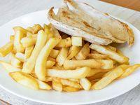 Combo - Pechuga de pollo a la plancha + papas fritas o ensalada + bebida 220 ml