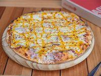 Pizza mozzarella con queso cheddar (42 cm)