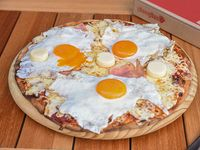 Pizza con palmitos (42 cm)