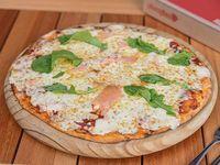 Pizza con salmón ahumado (42 cm)