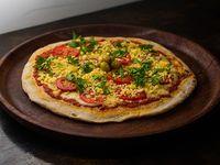 Pizza napolitana al provolone