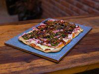 Pizza con chimichurri