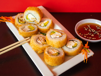 Suo chicken avocado hot roll (10 piezas)