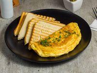 Omelette + té o café