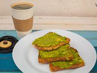 Promo 8 - Café + 3 tostadas con palta
