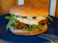 Sándwich de lomo chacarero