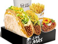 Big Bell Box - Burrito Supreme, Gordita Crunch, Crunchy taco + Papas fritas + Soda 21 oz