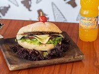 Menú ejecutivo - Sándwich vegetariano  + bebida de 600 ml