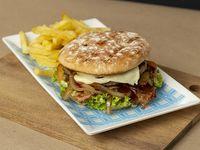 Hamburguesa Springfield En Combo