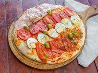 Picada de pizza cuatro gustos