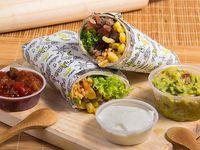 Burrito compadre + bebida 350 ml