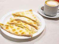 Promo - Café con leche + tostado de miga de jamón y queso