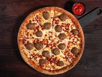 Pizza meatballs mediana