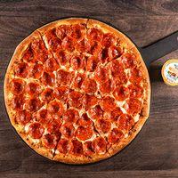 Pizza Double Pepperoni familiar