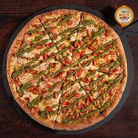Pizza pesto margarita XL