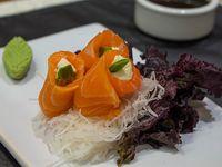 Geisha de salmón con queso y palta