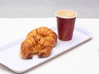 Combo - Café chico negro + 2 medialunas