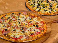 Promoción 2 - 2 Pizzas medianas (32 cm)