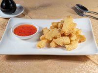 Merluza austral en salsa thai