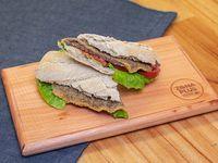 Sándwich de milanesa panini
