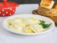 Sorrentinos de jamón y queso (8 unidades)