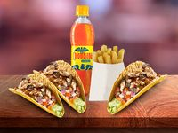 Combo Trío Tacos Mixto