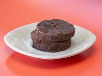 Alfajor helado de chocolate