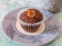 Muffins de chocolate con dulce de leche (media docena)