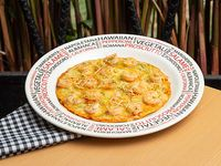Pizza Ejecutiva del Mar  Camarones al Ajillo