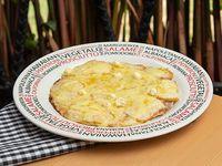 Pizza Vegetariana Ejecutiva Tres Quesos Pera (fruta)