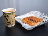 Promoción - Café + Sándwich tostado de jamón y queso